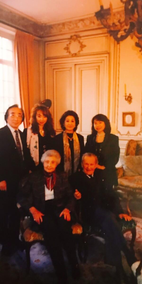 フランスの作曲家プーランク家でファミリーコンサート