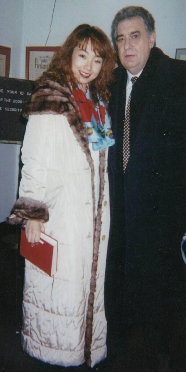 テノール歌手 Placido Domingo